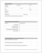 scholarship application template pdf format