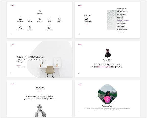 best minimalist powerpoint template