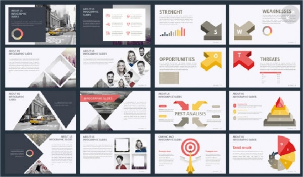 9+ awesome business powerpoint templates | free & premium templates, Presentation templates