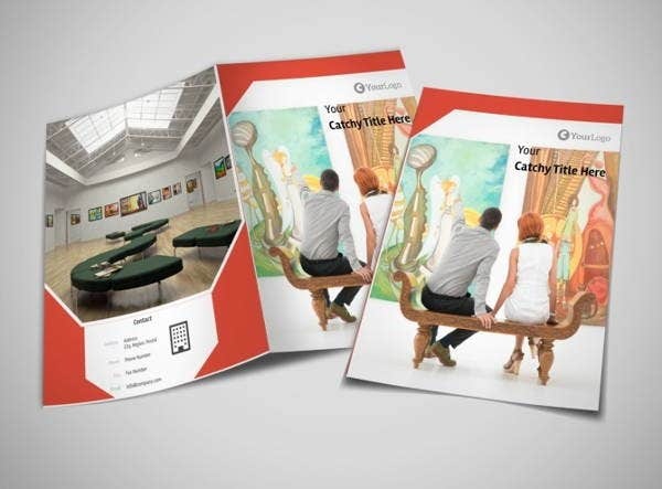 Art Exhibition Brochure Template