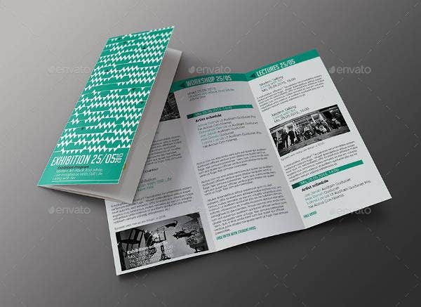 Exhibition Folded Brochure