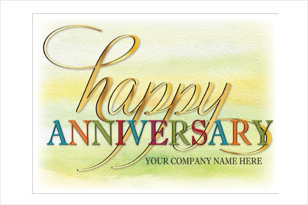 9 work anniversary cards free sample example format download editable work anniversary card colourmoves
