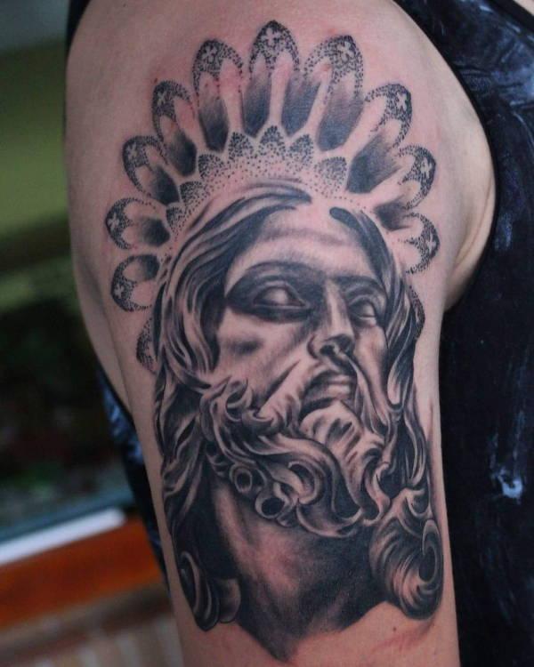 jesus-tattoo-on-arm