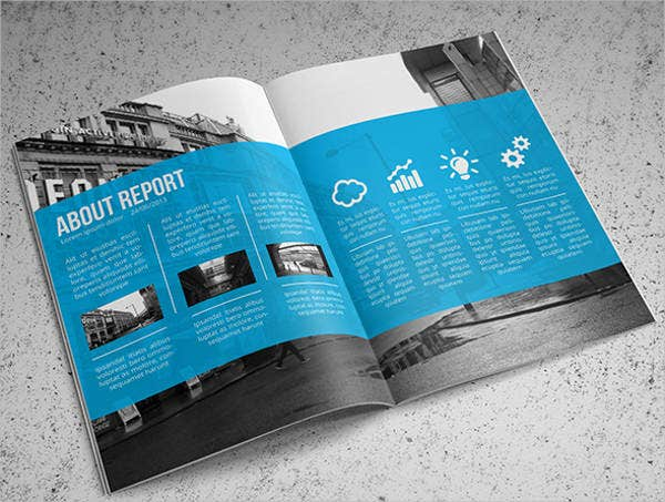 Free Annual Report Template  Annual Reports Templates