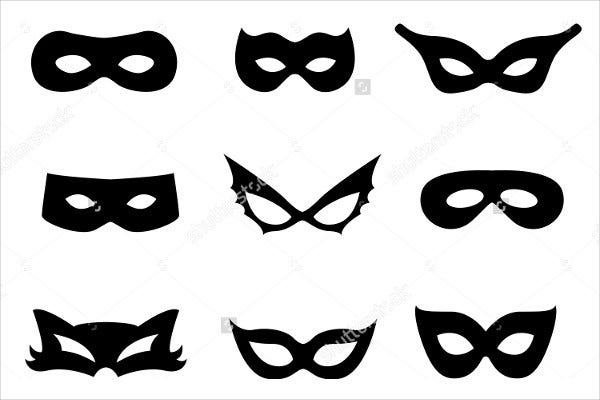Collection of Printable Mask Templates