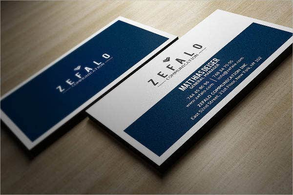 Minimalist business card 9 free psd vector ai eps format minimalist clean business card in psd template accmission Choice Image
