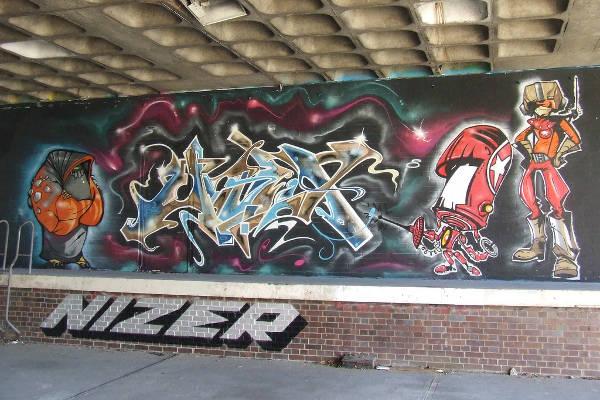 creative subway art