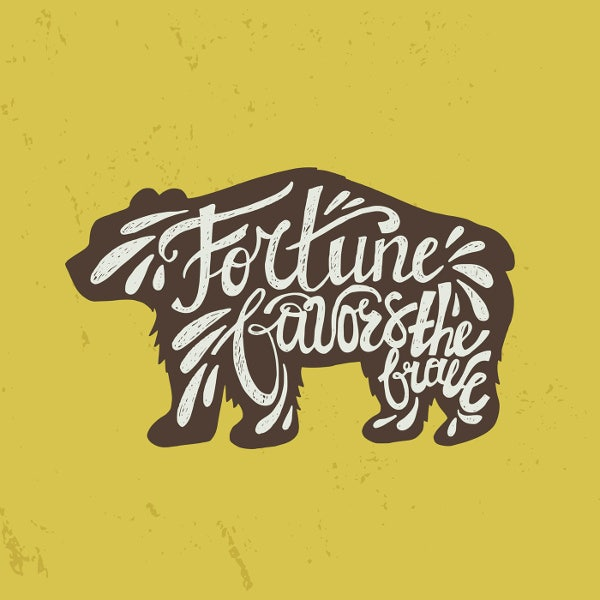 Bear Typography