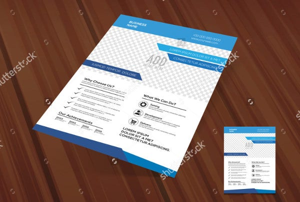 Stylish Pamphlet Template