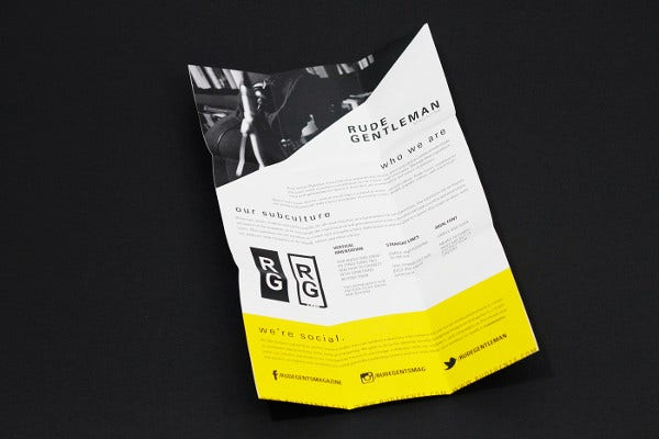 Promotional Pamphlet Template