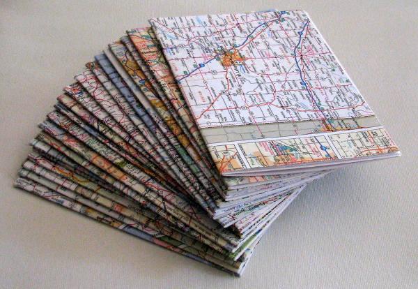 12 Atlas Map Pamphlet Templates