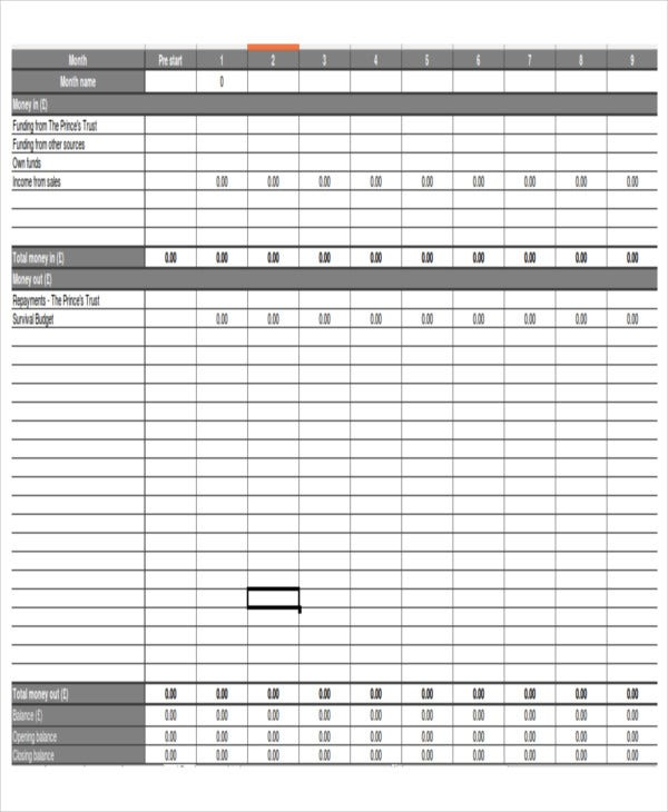8 excel business budget templates free premium templates business plan budget template excel cheaphphosting Gallery