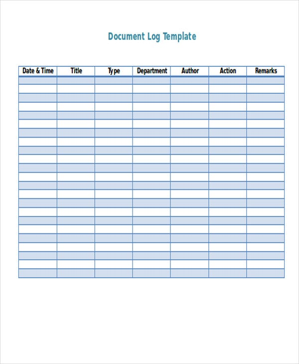 Customer Log Template  Free  Premium Templates