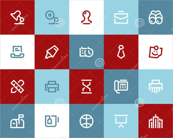 office business icons