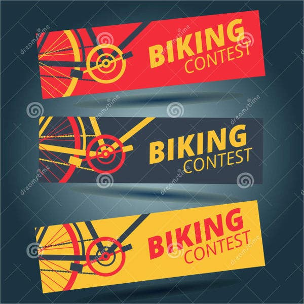 Flat Bicycle Contest Flyer