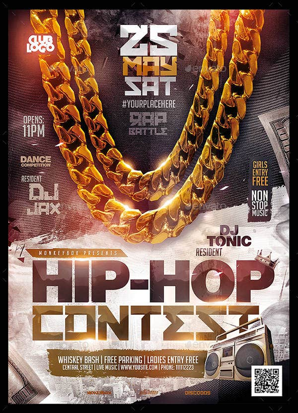 Hip-Hop Contest Flyer