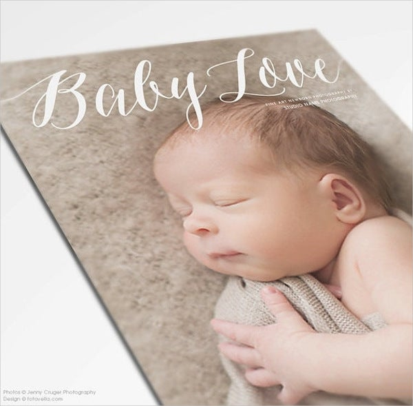 Newborn Photography Marketing Brochure