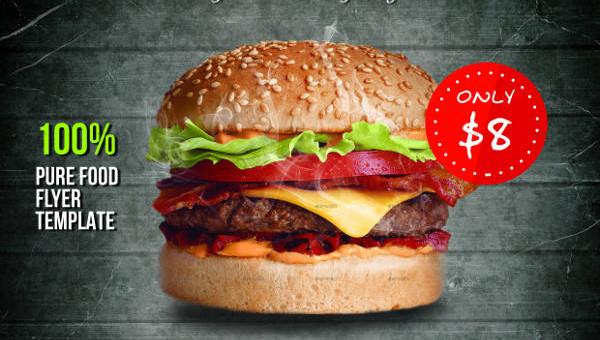 11   beautiful burger flyers