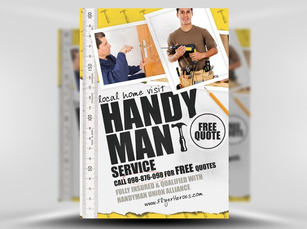 Fancypants Plumber Flyer Template