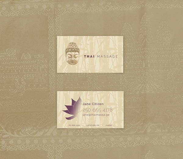 6 massage business cards printable psd eps format download thai massage business card colourmoves