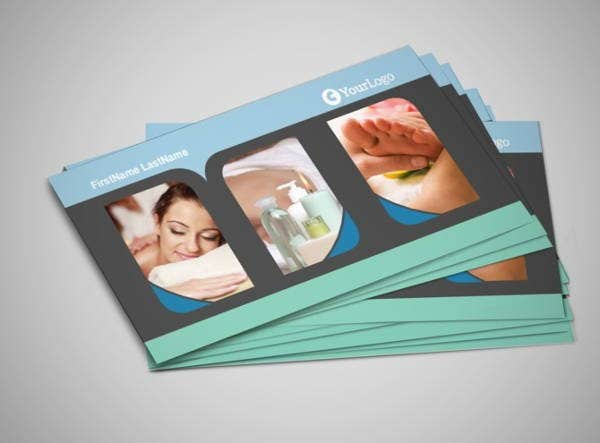 Massage & Spa Business Card
