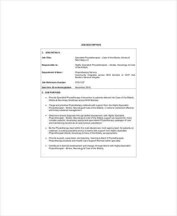 stroke neurologist job description