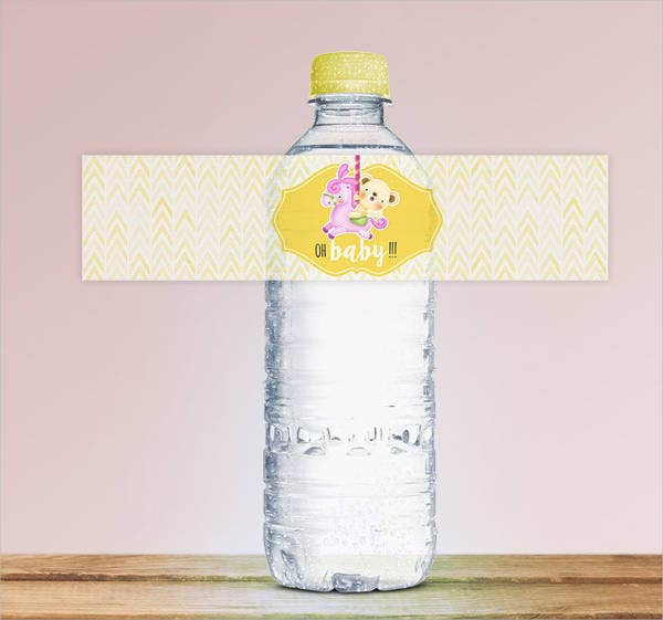 printable water bottle labels