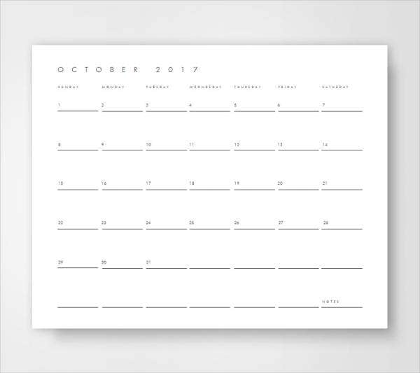Corporate Calendar Template : Week calendar template free sample example format