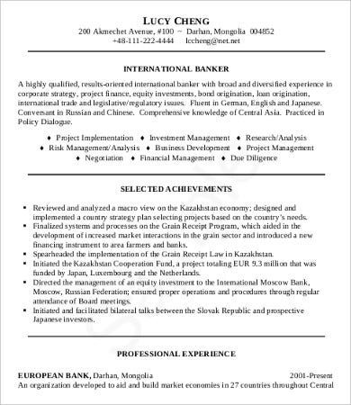 10 Sample Job Resumes Templates Pdf Doc Free Premium Templates