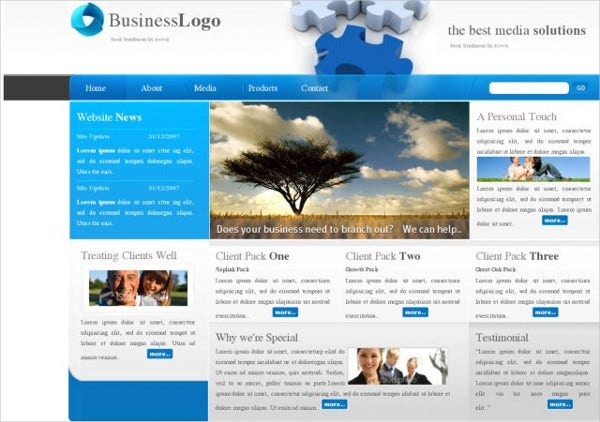 2 Free Web Templates