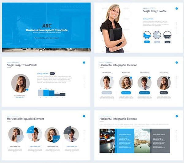 Modern Powerpoint Templates: Powerpoint Slide Template