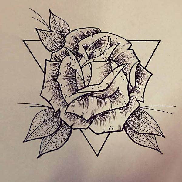 Line Art Rose : Best line drawings art ideas free premium templates