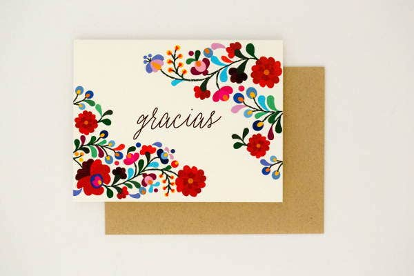 Colorful Wedding Gift Card Design