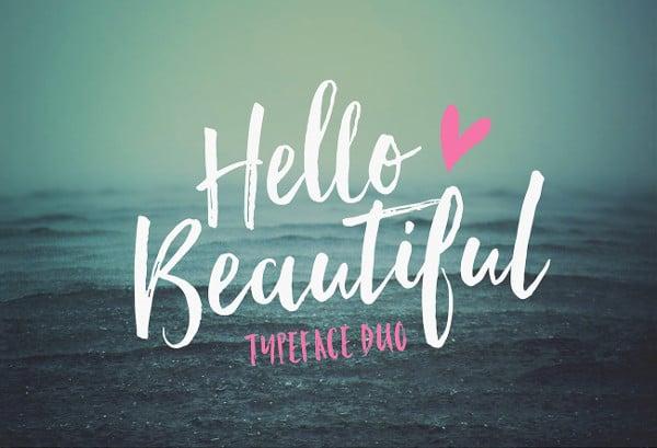 beautiful bold letters font