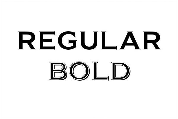 commercial bold letters1