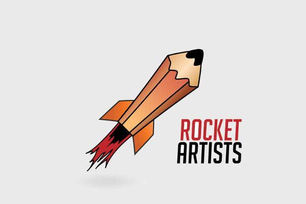 Vector Rocket Logo