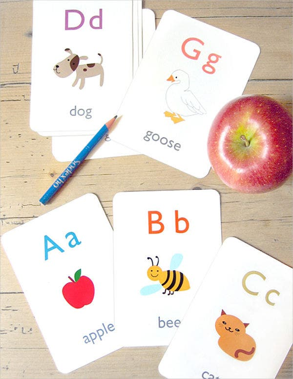 alphabet-flash-card