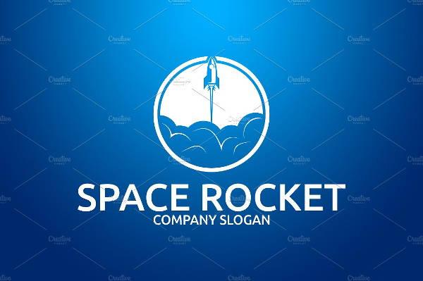 space rocket logo