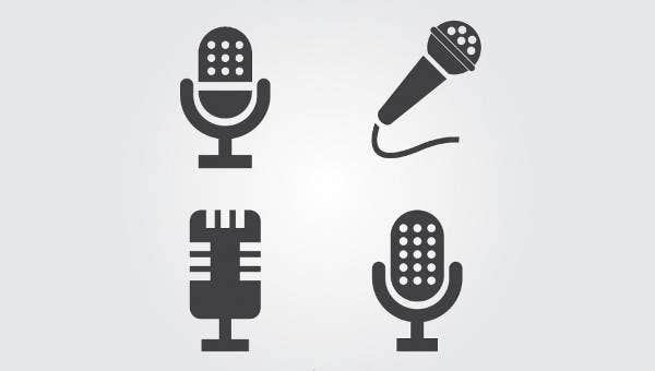 7+ Microphone Icons - PSD, Vector EPS Format Download | Free
