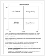 stakeholder analysis template word min