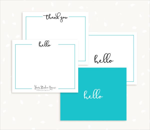 photographer note card template1