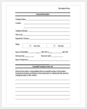 job analysis form min