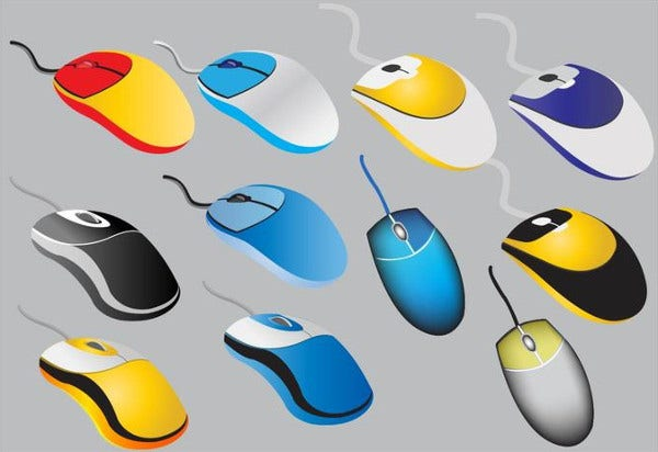 Free Printable Mouse Icons Set Download