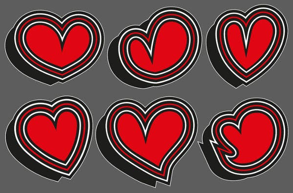 Romantic Love Stickers