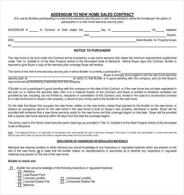home-sales-contract-template