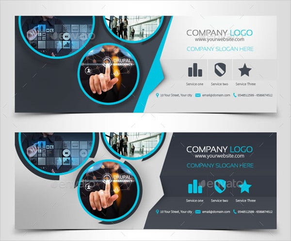 corporate timeline cover template