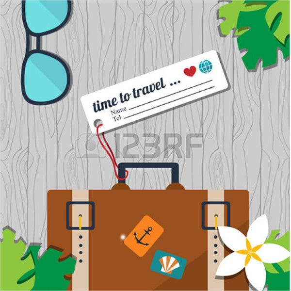 Luggage Name Tag Template
