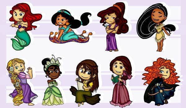 Disney Cartoon Stickers