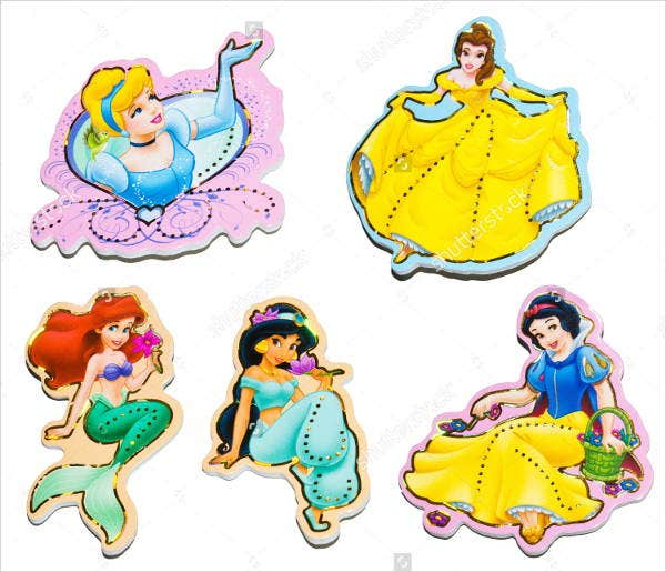 Disney Character Stickers