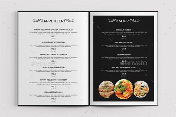 food-menu-brochure